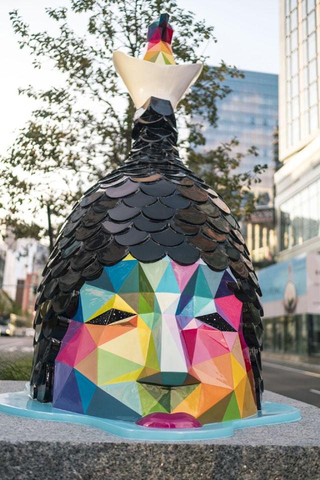 Скульптура испанского художника Окуды Сан-Мигеля