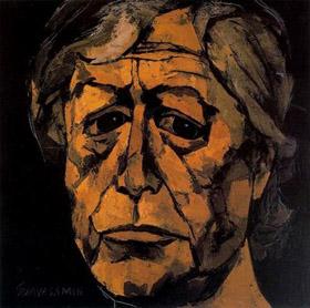 Освальдо Гуаясамин - автопортрет
