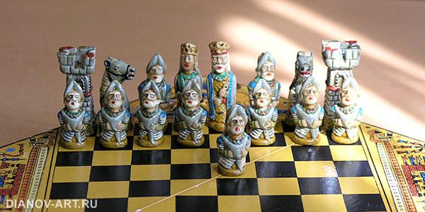 Шахматное войско конкистадоров