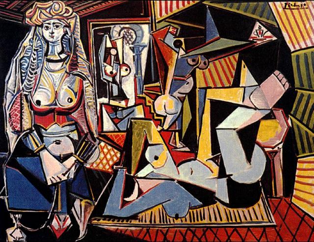 Пабло Пикассо - Алжирские женщины (1955)