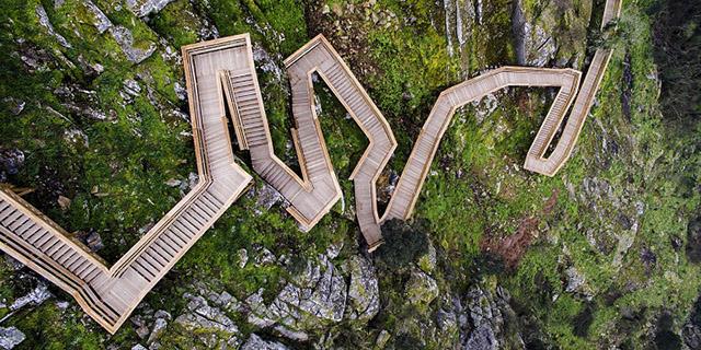 деревянные мостки