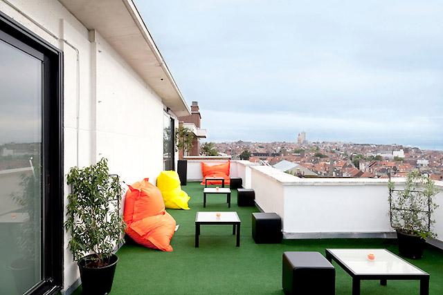 балкон Пантон-отеля