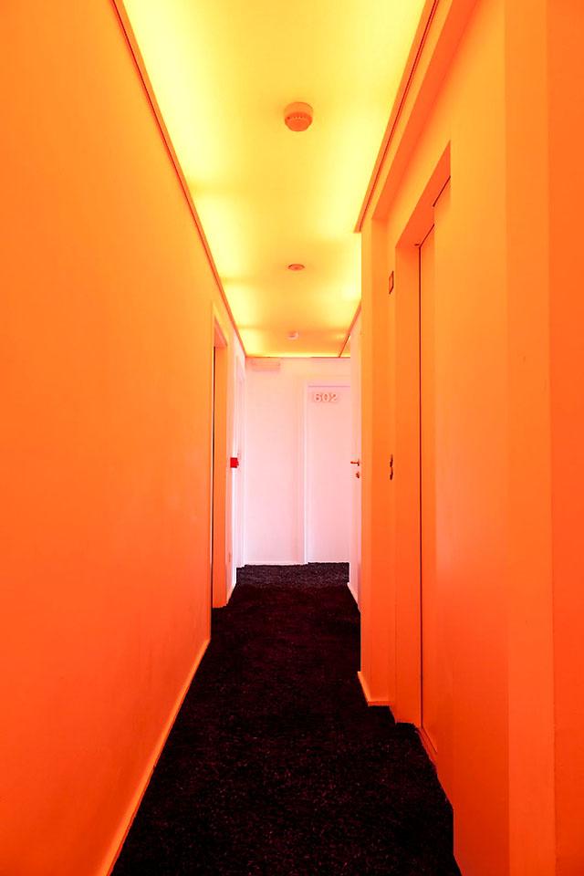 коридор Пантон-отеля