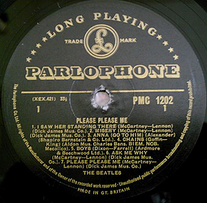 Parlophone LP PMC 1202
