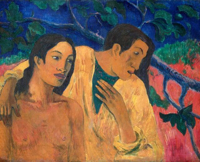 """Paul Gauguin """"Les Amants"""" (1902)"""