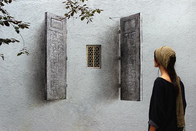 окошко в стене
