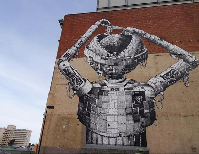 Work by Phlegm