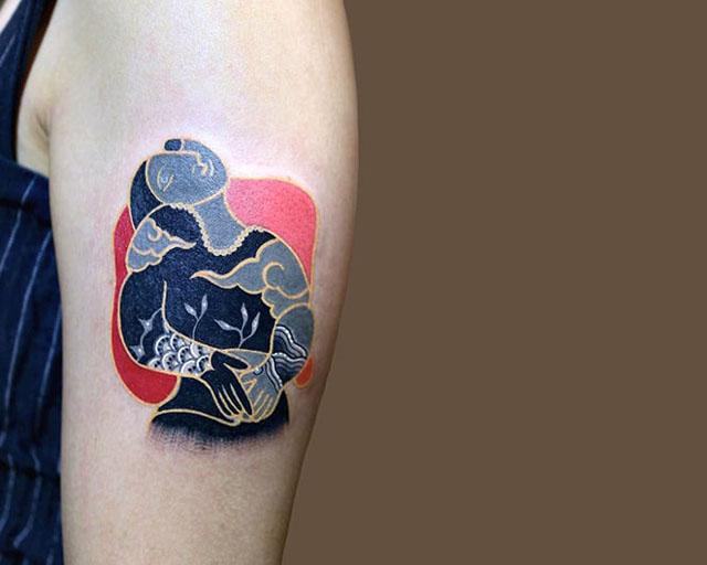 Искусство тату по-корейски