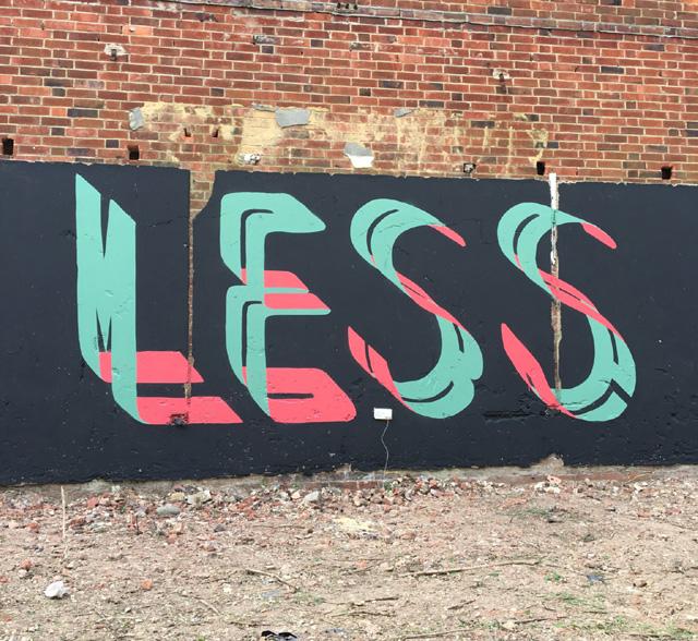 граффити британского художника Pref