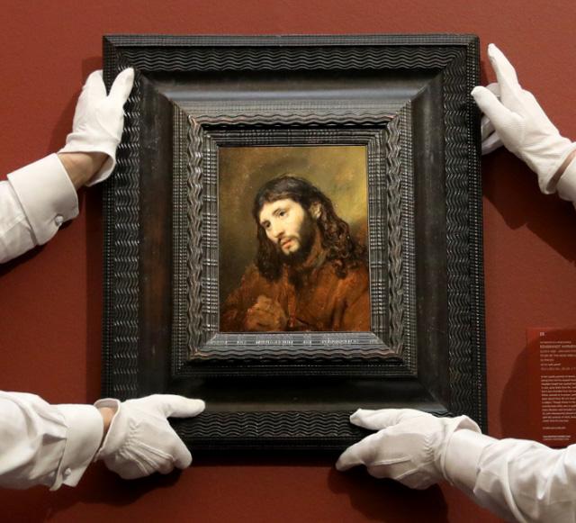 Рембрандт ван Рейн «Этюд головы и сложенных рук молодого человека, или Христос в молитве» (1655), Фото: Sotheby's
