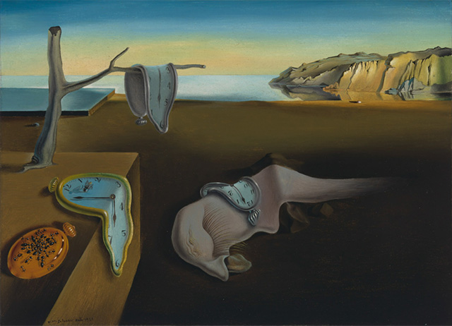Salvador Dalí. The Persistence of Memory (1931)
