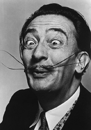 Salvador Dali, photo Getty Images