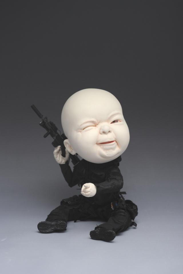 скульптура Джонсона Цанга