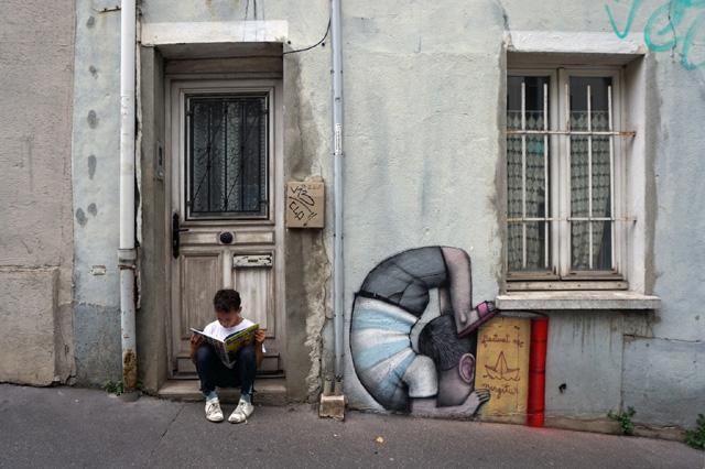 Работа французского художника Жюльена Маллана (Julien Malland)