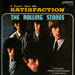 The Rolling Stones (I Can't Get No) Satisfaction, обложка сингла (1965)