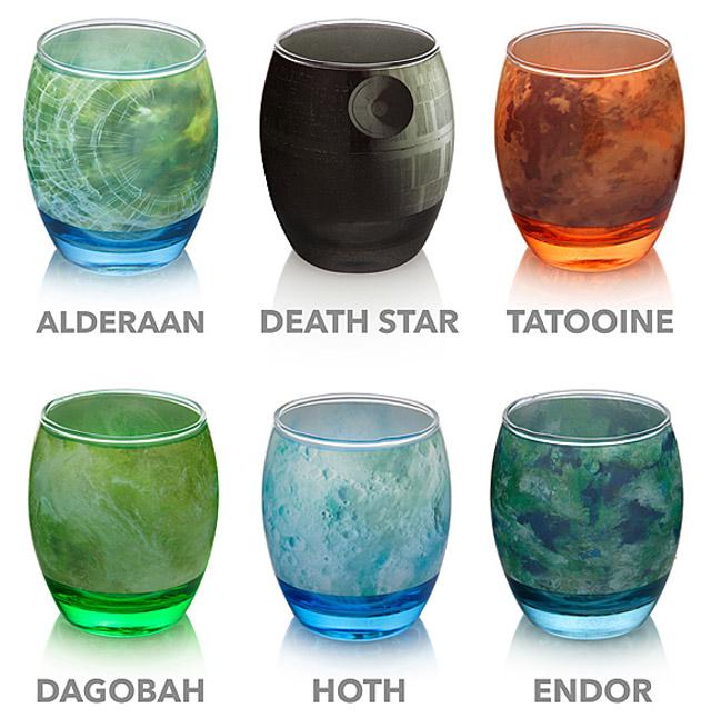 космические стаканы