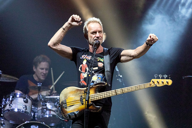 Sting & Shaggy in concert at Aragon Ballroom, Chicago, USA - 02 Oct 2018