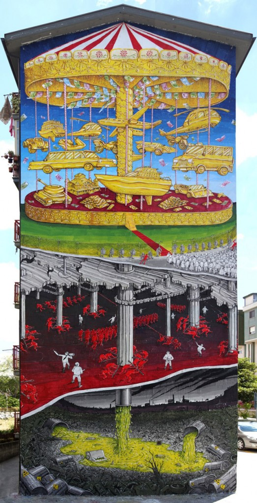 Work by Blu (Italy)