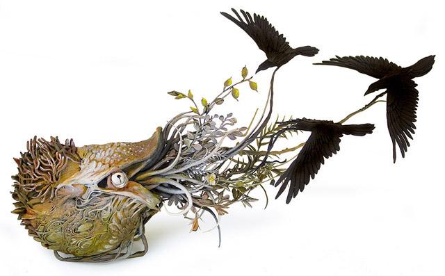 Скульптура художницы Эллен Джьюетт