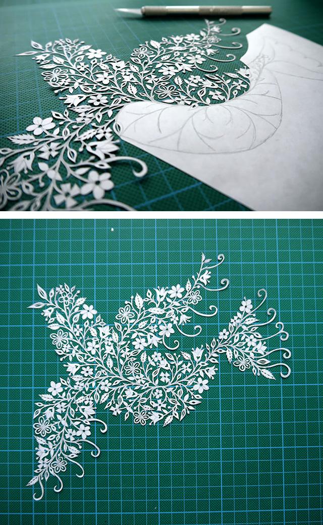 Folk Art Papercuts