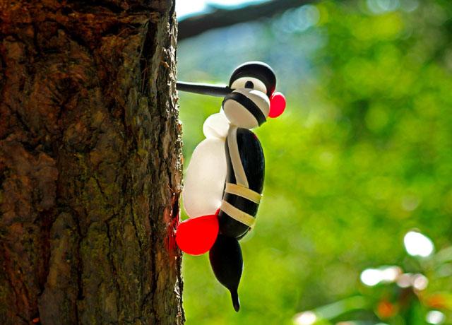 Надувные птицы Терри Кука