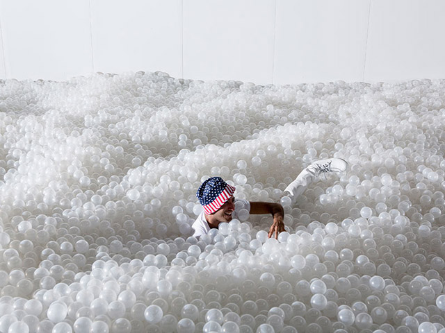 Work by studio Snarkitecture (2015)