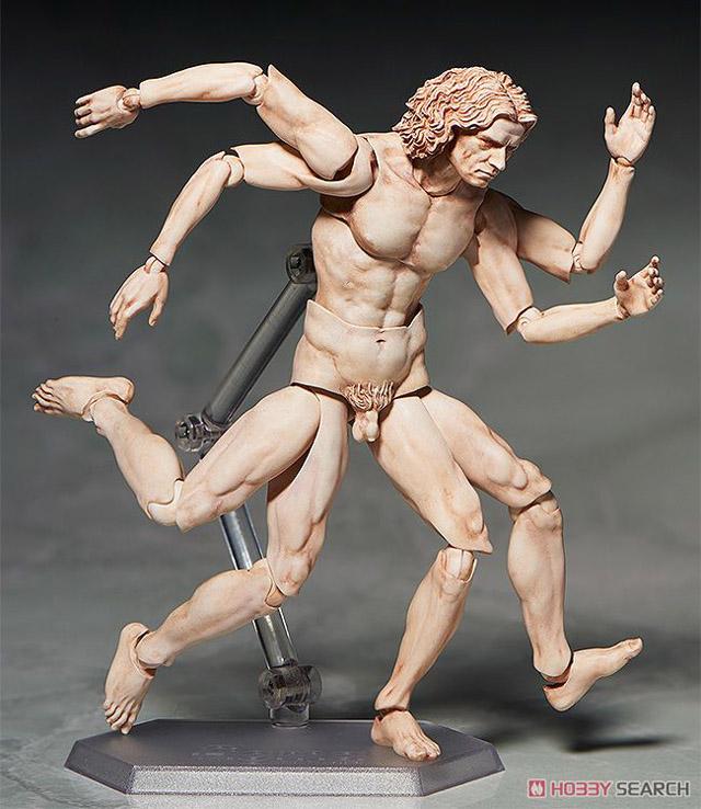 кукла Витрувианский человек