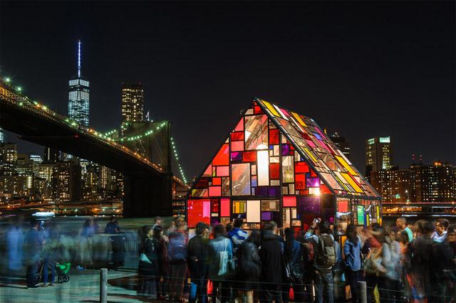 арт-фестиваль в Бруклине
