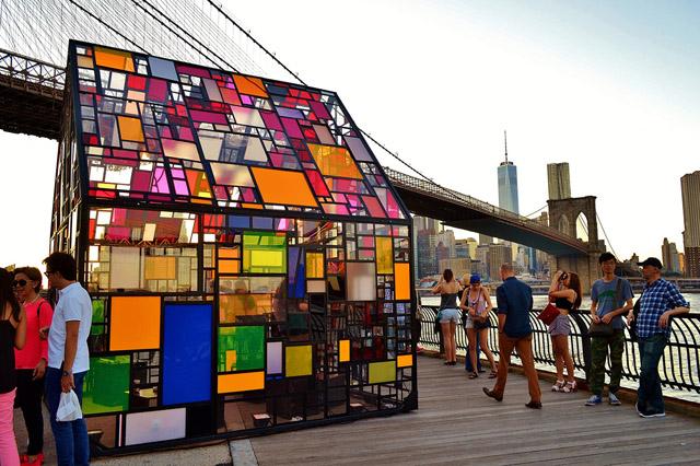 Инсталляция в Нью-Йорке