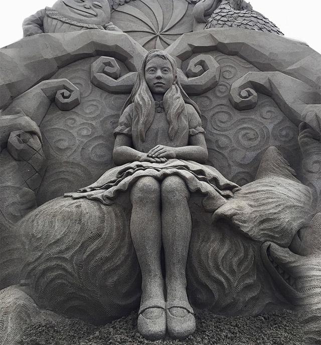 Песочные скульптуры Тошихико Хосака