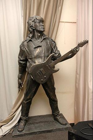 Скульптурный проект памятника Виктору Цою