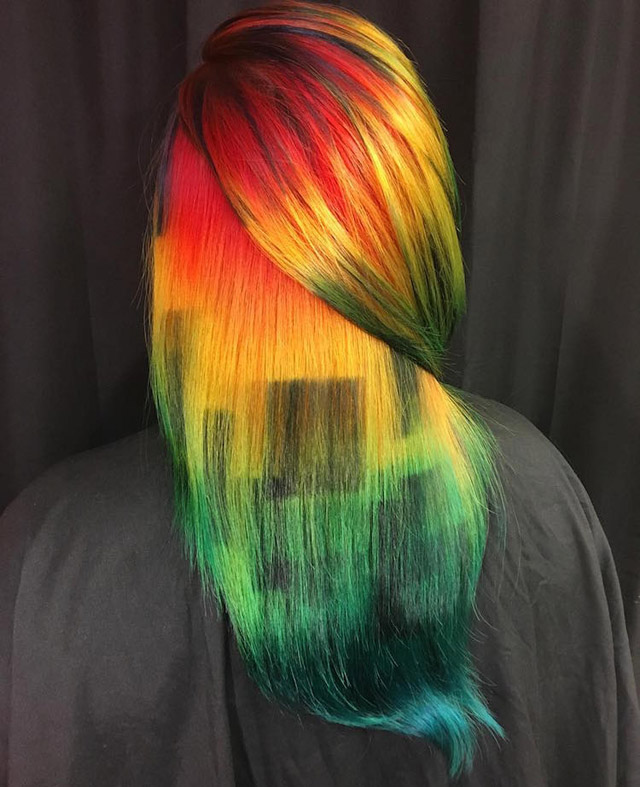 Hair-art by Ursula Goff