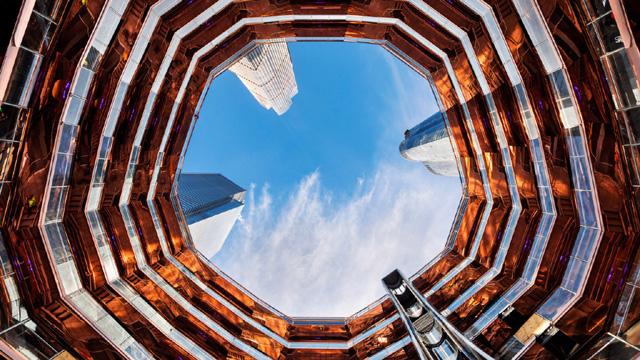 "Смотровая площадка ""Vessel"" в районе Хадсон-Ярдс (Нью-Йорк)"
