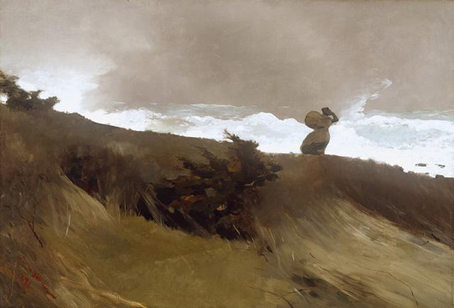 Уинслоу Хомер (1836-1910) - Западный ветер