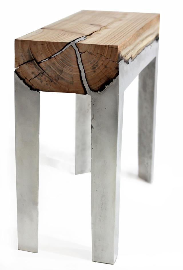 Дизайнерский столик Хиллы Шамиа