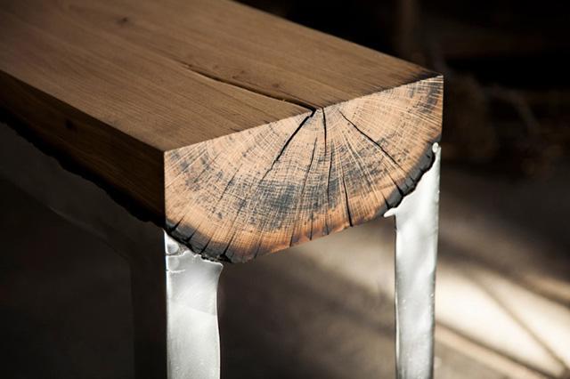 фрагмент дизайнерского столика