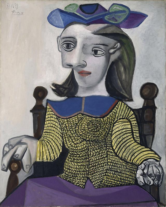 """Pablo Picasso """"Le chandail jaune"""" (1939)"""