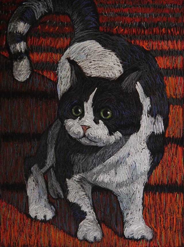 Пастель художницы Натальи Леоновой