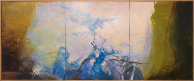 Zao Wou-Ki, Triptyque1987-1988