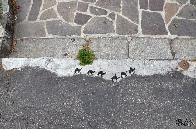 оригинальный французский стрит-арт