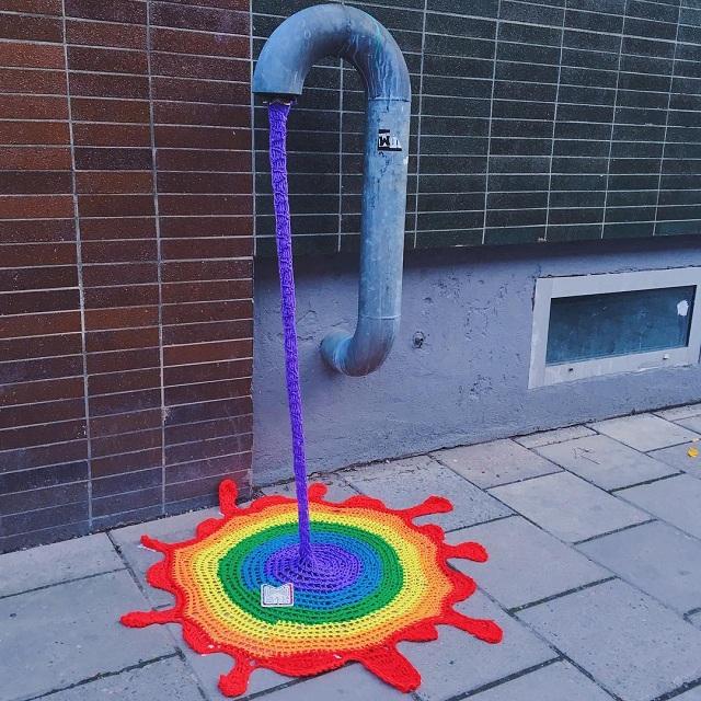 инсталляция Джулии Риордан в Стокгольме