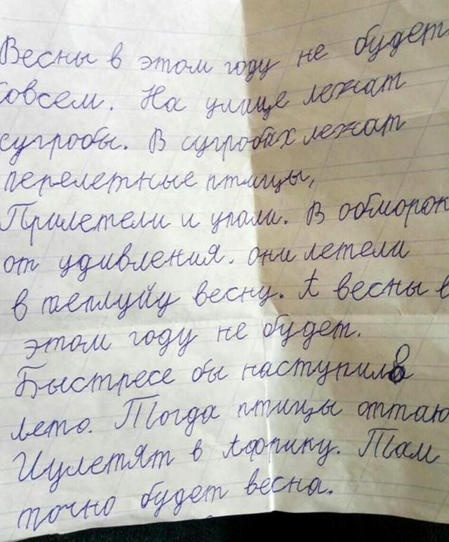 Типа как сочинение школьника начальных классов, фото: www.twizz.ru